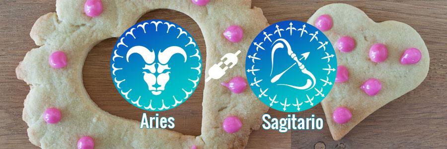 Compatibilidad de Aries y Sagitario