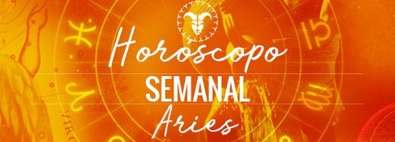Horóscopo de Aries Semanal